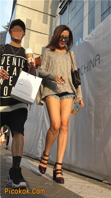 极品大长腿高跟墨镜美少妇18