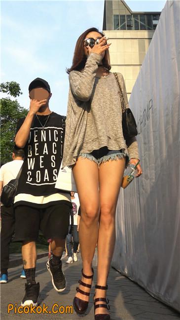 极品大长腿高跟墨镜美少妇20