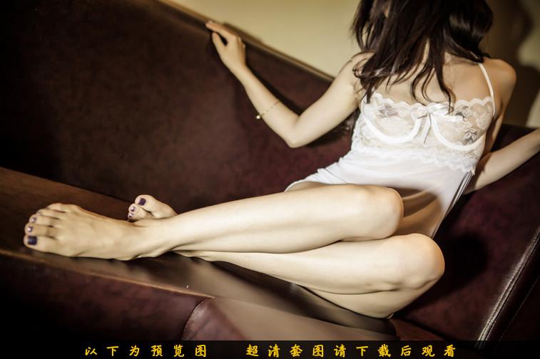 薄纱睡裙,居家女人性感演绎