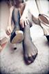 黑色的丝袜,柔软的床,男人的梦8