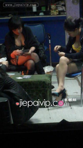 街拍街头发廊美女视频35