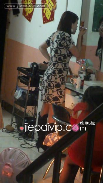 街拍街头发廊美女视频3