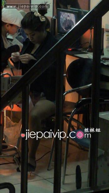 街拍街头发廊美女视频67