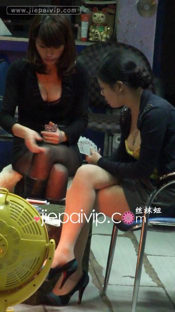 街拍街头发廊美女视频131