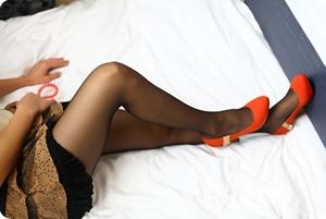 高跟翘臀美腿美足,是否充满着诱惑