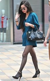 时尚黑丝美腿