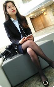 职业装丝袜少妇