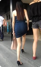 如此性感身材白嫩美腿,女人看了都妒忌