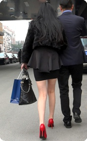 高跟长腿高跟性感美女