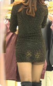 极品黑丝包臀裙美女售货员