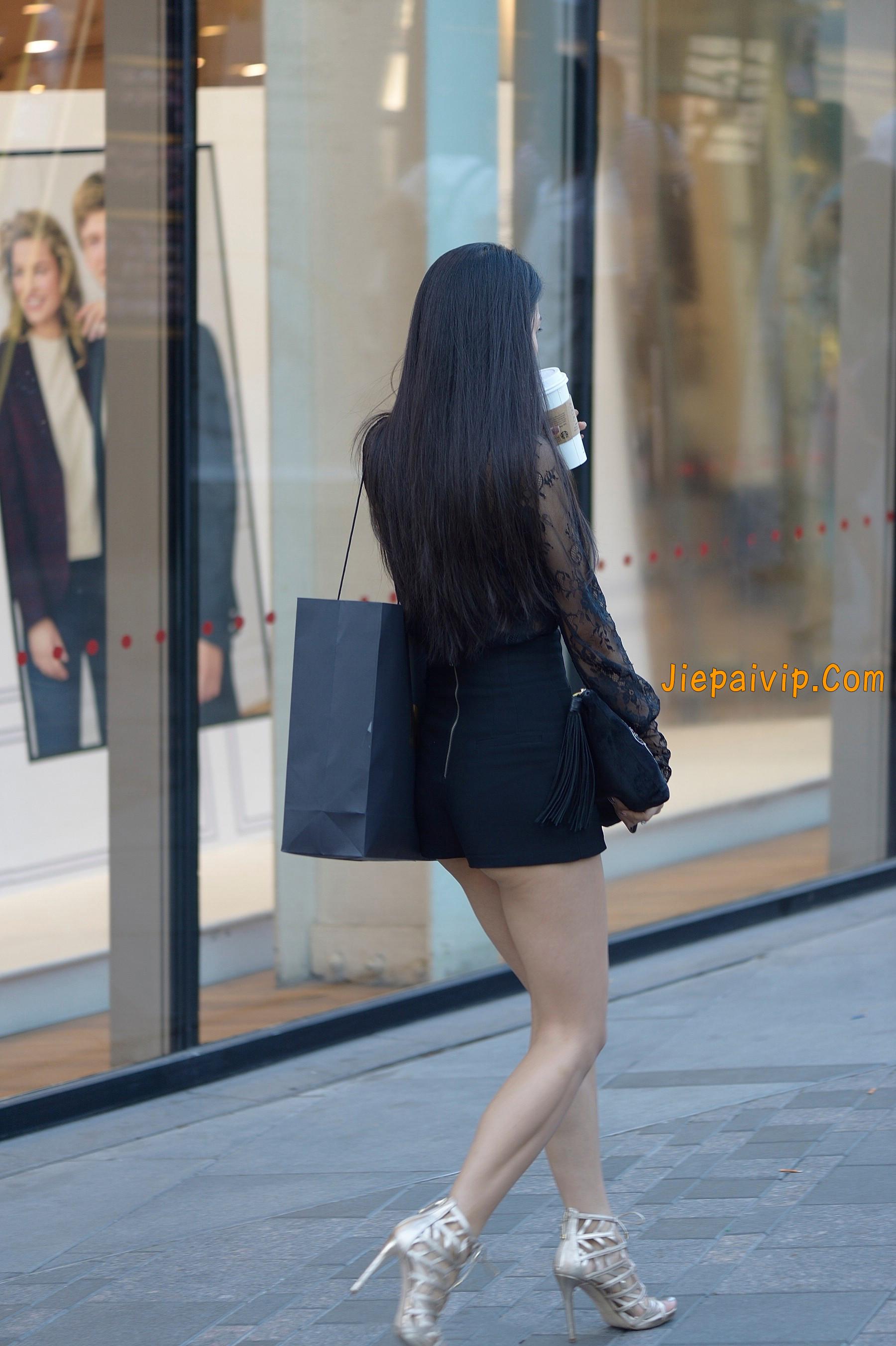 气质诱人,透视装长腿美女16