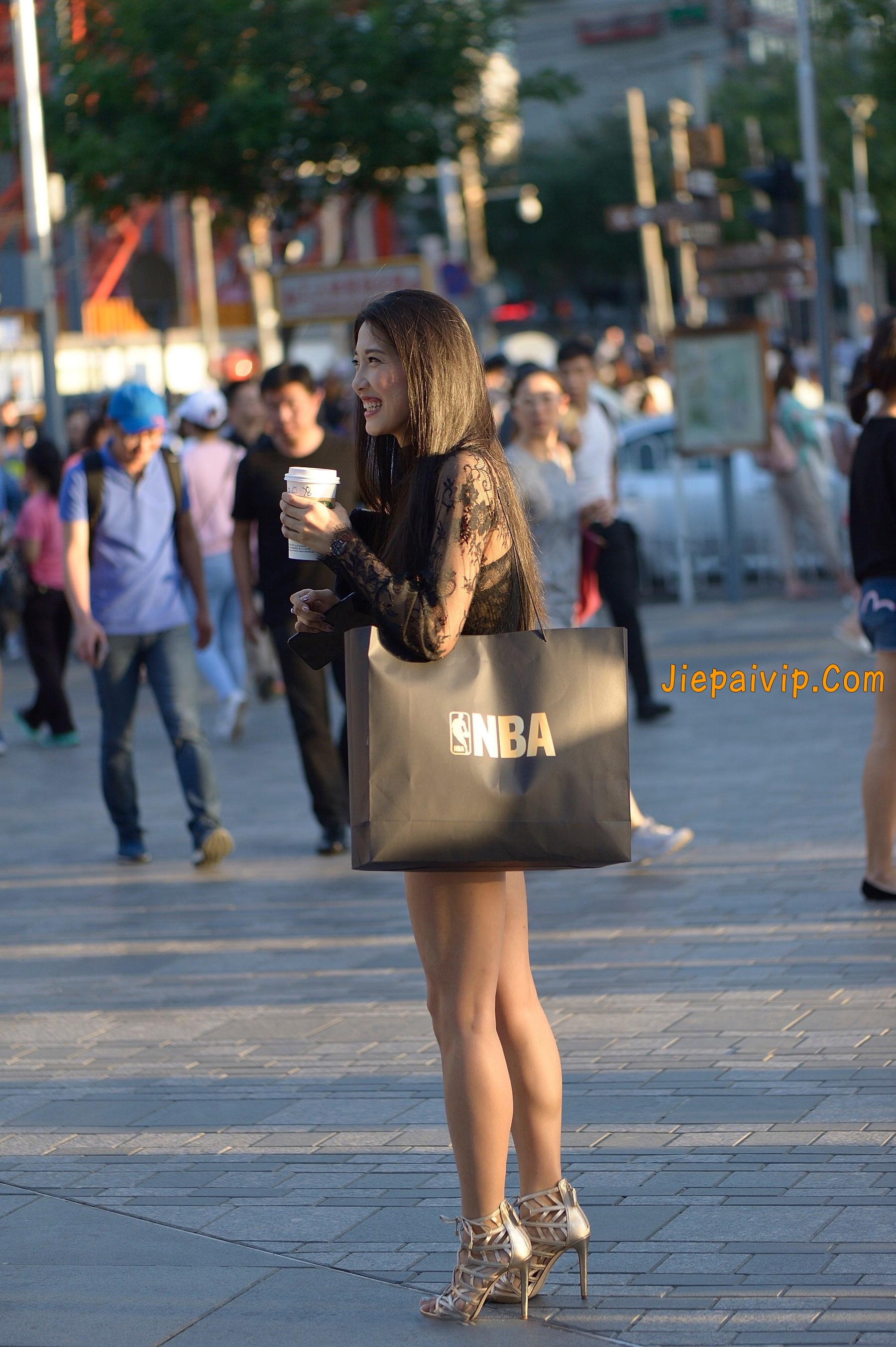 气质诱人,透视装长腿美女21