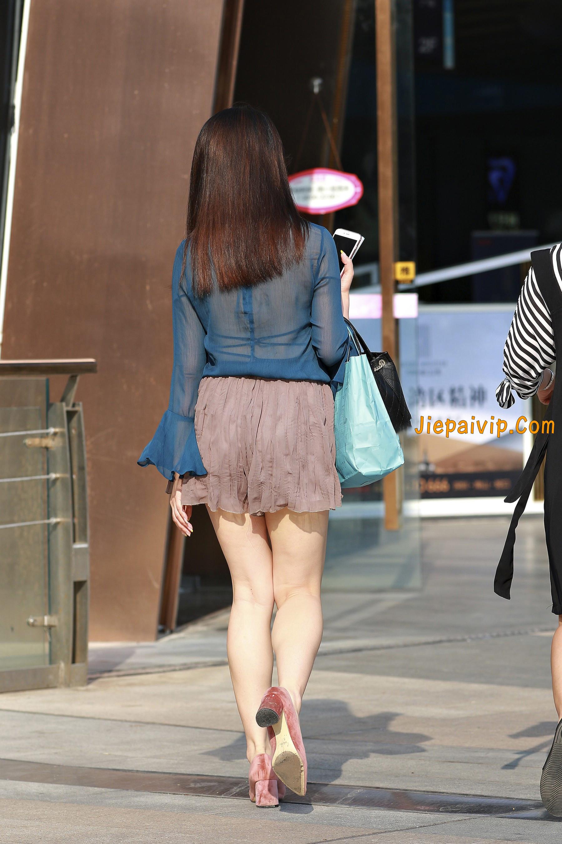 害羞 性感 白嫩美腿 淑女,膝盖怎么回事呢?6