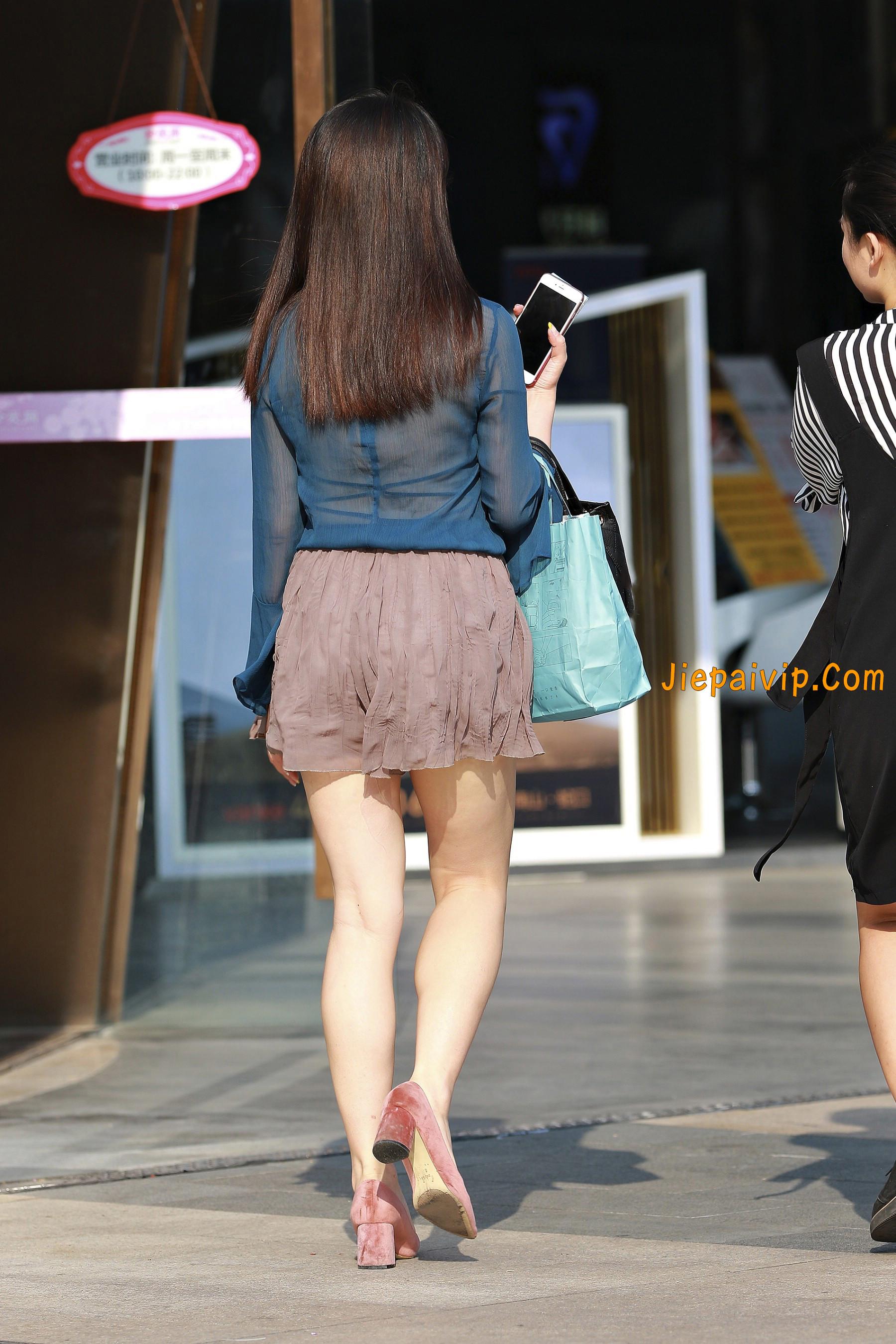 害羞 性感 白嫩美腿 淑女,膝盖怎么回事呢?9