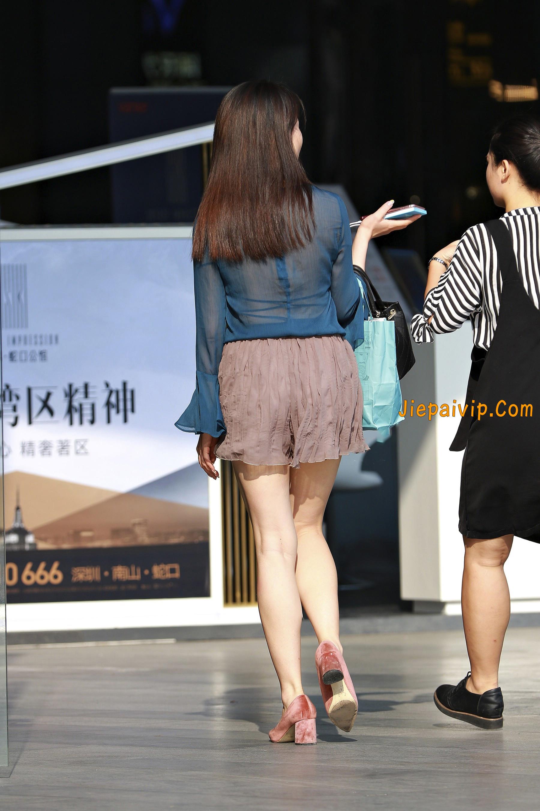害羞 性感 白嫩美腿 淑女,膝盖怎么回事呢?12