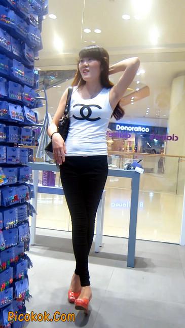 极品气质美女,紧身牛仔凸显身材7