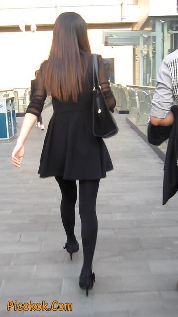 黑丝短裙少妇4