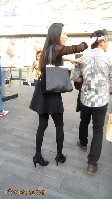 黑丝短裙少妇6