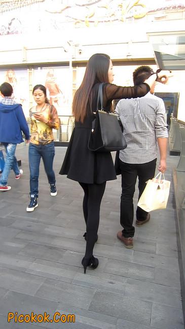 黑丝短裙少妇7