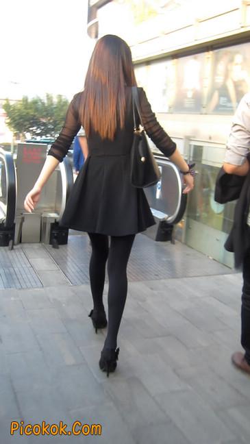黑丝短裙少妇9