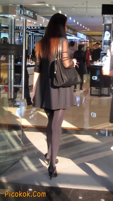 黑丝短裙少妇16