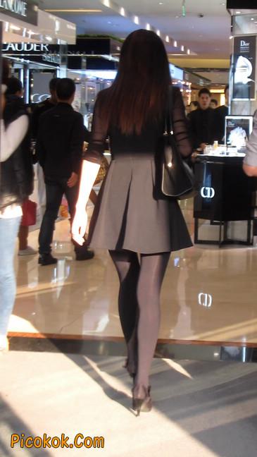 黑丝短裙少妇18
