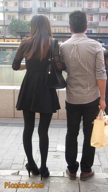 黑丝短裙少妇19