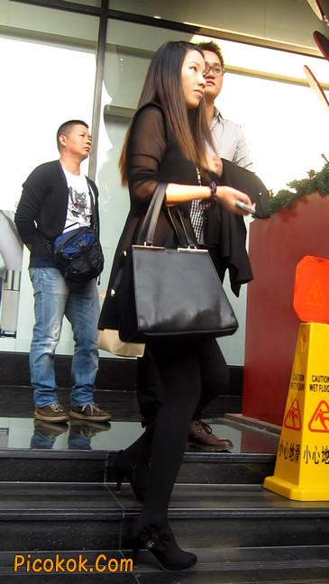 黑丝短裙少妇28