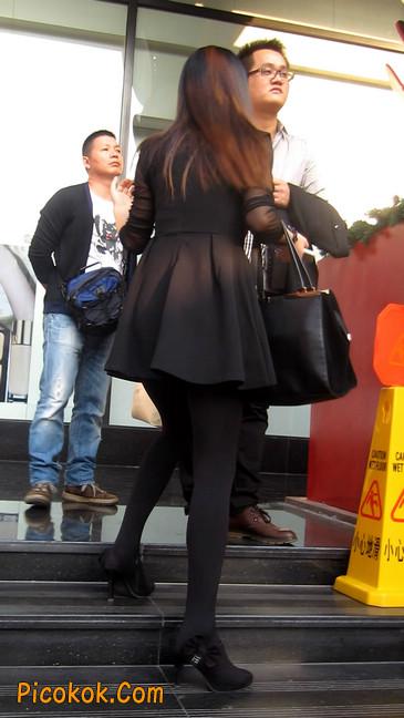 黑丝短裙少妇29