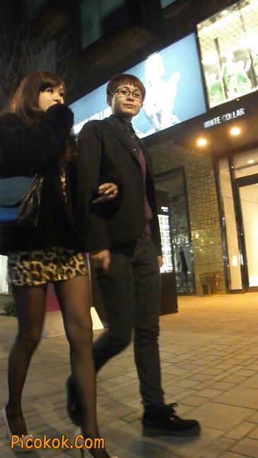 豹纹短裙,高跟黑丝,极度诱惑10