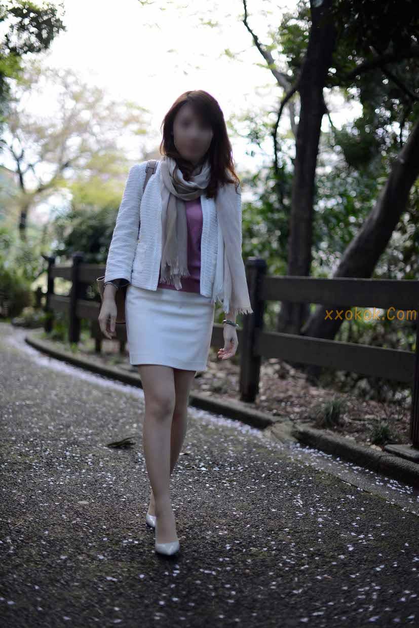 我们单位日本籍的气质美女8