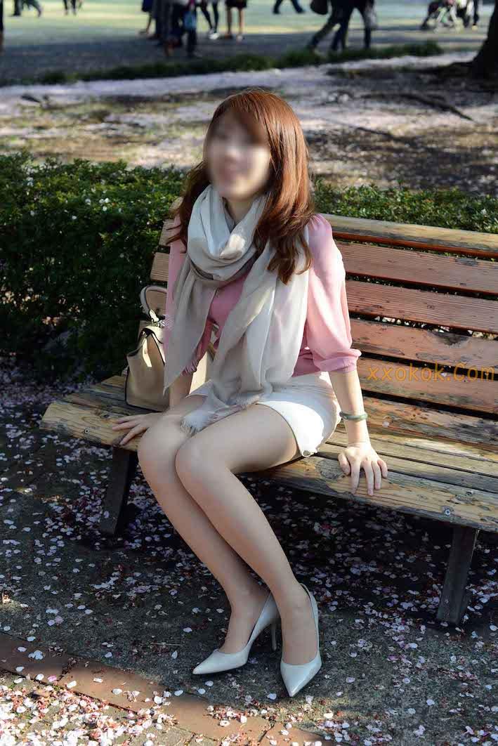 我们单位日本籍的气质美女13
