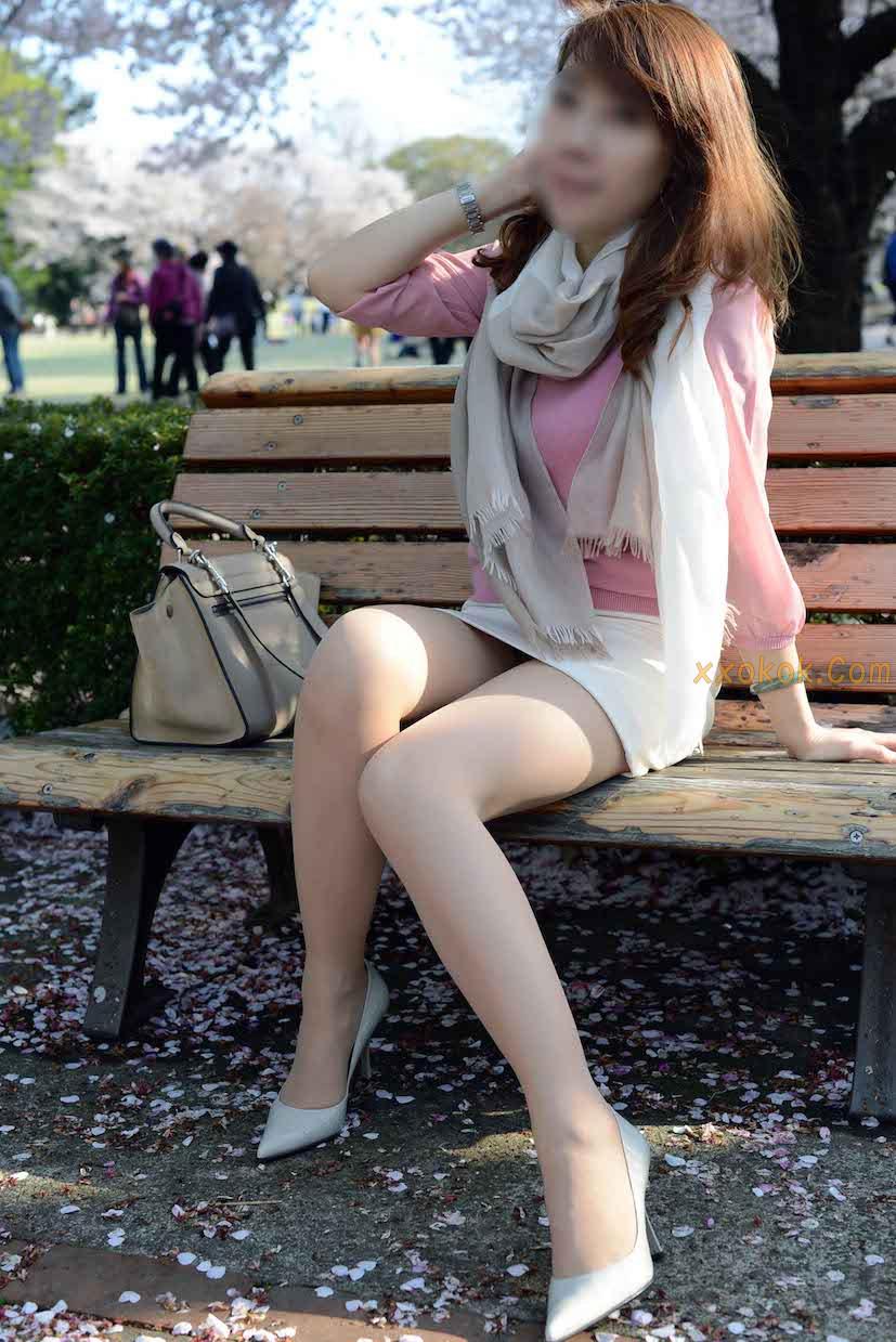 我们单位日本籍的气质美女17