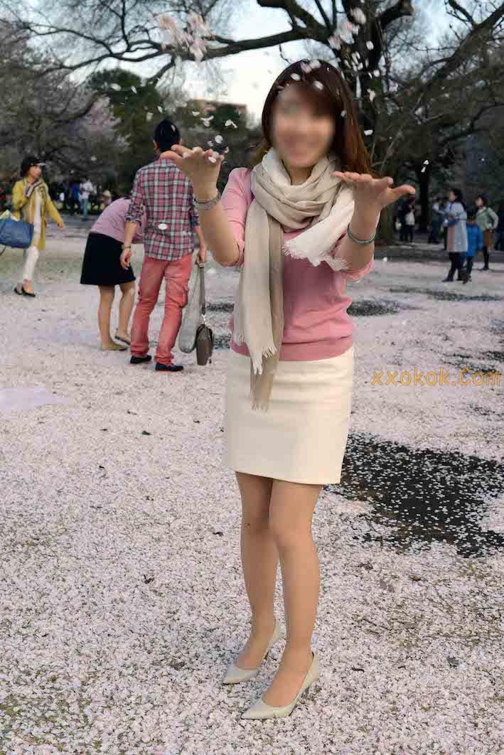 我们单位日本籍的气质美女20