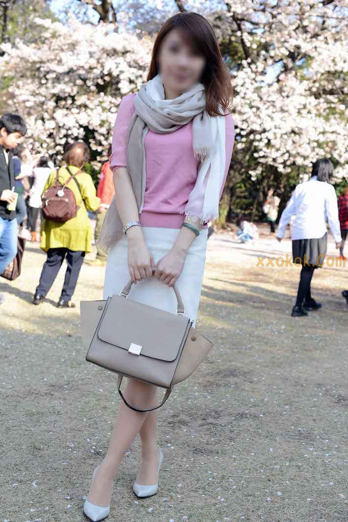 我们单位日本籍的气质美女22