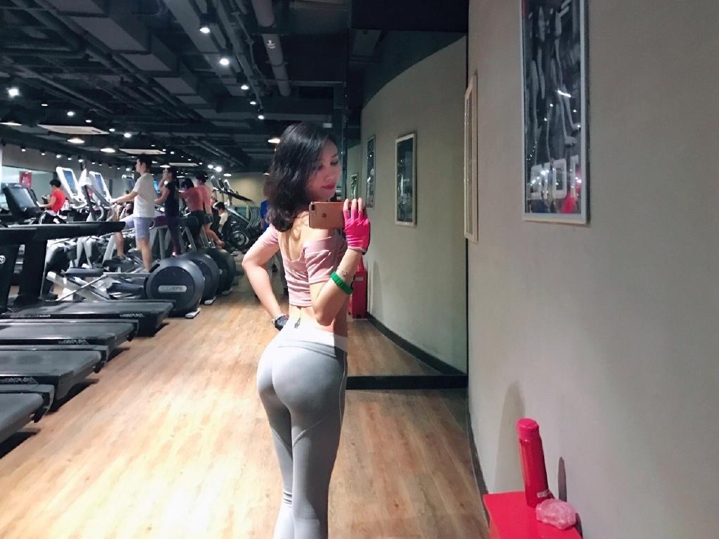 妻子每次去健身房都穿成这样怎么办?1