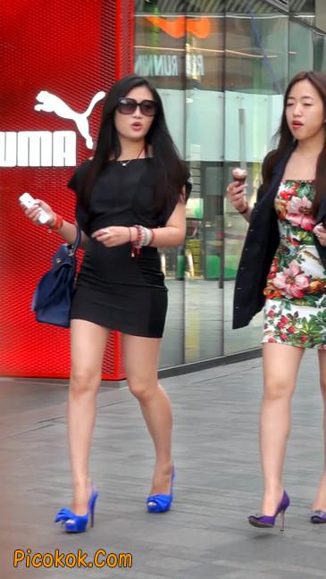 气质超赞的短裙工作装美女少妇1
