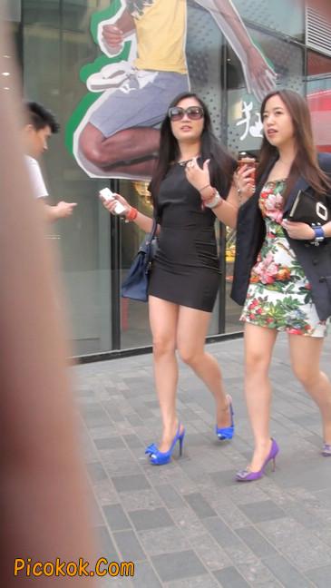 气质超赞的短裙工作装美女少妇3