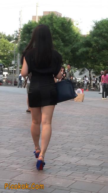 气质超赞的短裙工作装美女少妇6