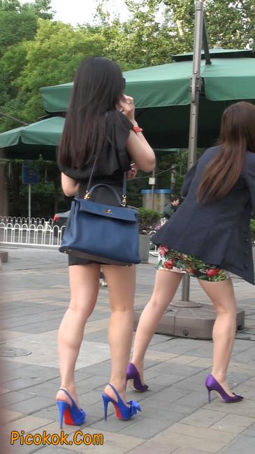 气质超赞的短裙工作装美女少妇22