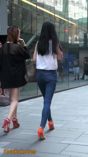 俏丽紧身裤美女不知道其他功夫是不是也像相貌这么好14