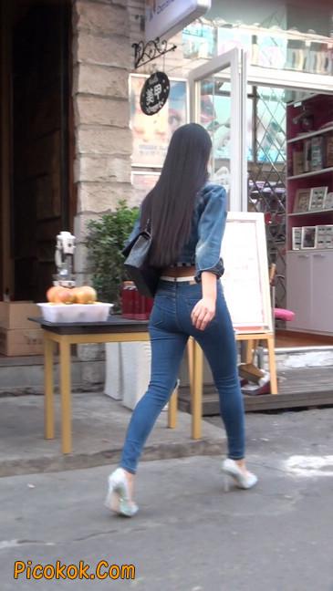 非常漂亮的紧身牛仔裤美女41