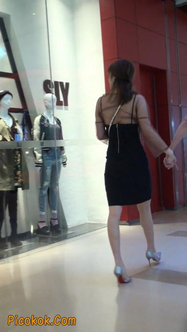 十分性感的薄纱超短裙美女14