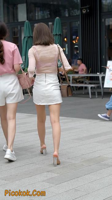 韵味十足短裙温柔少妇11