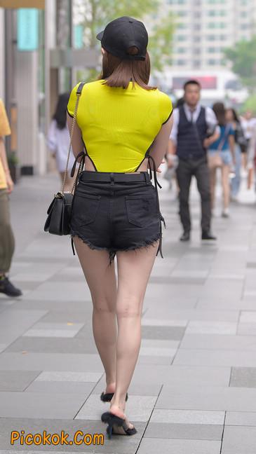 短裤美女大长腿,日日夜夜为你醉11